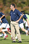 04 November 2007: Duke assistant coach Michael Jeffries. The Alabama A&M University Bulldogs defeated the Duke University Blue Devils 4-3 at Koskinen Stadium in Durham, North Carolina in an NCAA Division I Men's Soccer game.