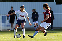 Wynne of Tottenham Ladies and Alice Hassall of Aston Villa Ladies during Tottenham Hotspur Ladies vs Aston Villa Ladies, FA Women's Championship Football at Theobalds Lane on 28th October 2018