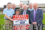 Friends of Kerry General Hospital Support Group are preparing for this year's fundraising efforts for the Bowel Cancer Treatment Unit. .Back L-R PJ Hayes, Noel O'Connell and Denis Hutchinson .Front L-R Consultant Surgeon at KGH Kevin Murray, Leo Griffin, Liam Brassil and Tom O'Connor.