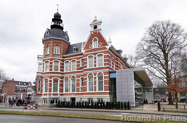 Nederland -  Oss  -  2018.   Museum Jan Cunen is een kunstmuseum gevestigd in een monumentale fabrikantenvilla in het centrum van Oss. In het museum worden tentoonstellingen gehouden van negentiende-eeuwse en hedendaagse kunst.   Foto Berlinda van Dam / Hollandse Hoogte