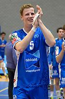 GRONINGEN - Volleybal, Abiant Lycurgus - Orion, Martiniplaza, Supercup , seizoen 2017-2018, 01-10-2017,  Lycurgus speler Auke van der Kamp