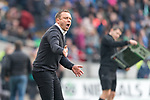 10.03.2018, HDI Arena, Hannover, GER, 1.FBL, Hannover 96 vs FC Augsburg<br /> <br /> im Bild<br /> Andre / Andr&eacute; Breitenreiter (Trainer Hannover 96) in Coachingzone / an Seitenlinie, <br /> <br /> Foto &copy; nordphoto / Ewert