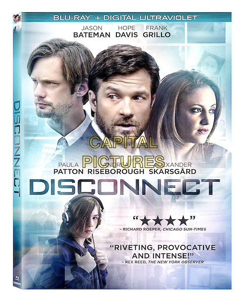 BLU RAY COVER ART<br /> in Disconnect (2012)<br /> *Filmstill - Editorial Use Only*<br /> CAP/FB<br /> Image supplied by Capital Pictures