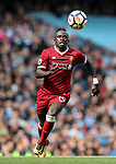 Liverpool's Sadio Mane in action during the premier league match at the Etihad Stadium, Manchester. Picture date 9th September 2017. Picture credit should read: David Klein/Sportimage