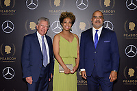 NEW YORK - MAY 18: Hank Klibanoff, Je-Anne Berry and David Barasoain attend the 78th Annual Peabody Awards at Cipriani Wall Street on May 18, 2019 in New York City. (Photo by Anthony Behar/FX/PictureGroup)