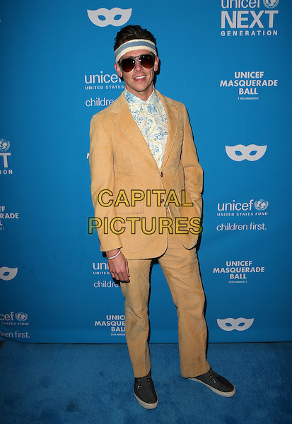 LOS ANGELES, CA - OCTOBER 27: Justice Leak at the Fourth Annual UNICEF Masquerade Ball Los Angeles at Clifton's Cafeteria in Los Angeles, California on October 27, 2016. <br /> CAP/MPI/FS<br /> &copy;FS/MPI/Capital Pictures