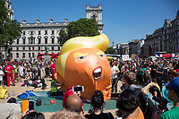 Protests as Donald Trump visits the UK - 13.07.2018 - AR