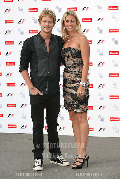 Sam and Holly Branson arriving for the F1 Party at the Natural History Musuem, London. 05/07/2010  Picture by: Alexandra Glen / Featureflash