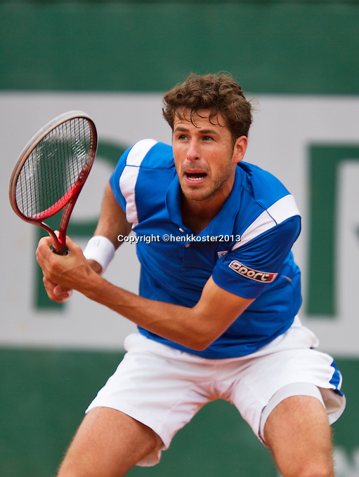 31-05-13, Tennis, France, Paris, Roland Garros,  Robin Haase