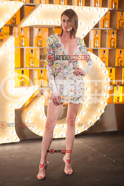Spanish model Nieves Alvarez poses during Licor 43 presentation in Madrid, Spain. January 29, 2015. (ALTERPHOTOS/Victor Blanco) /nortephoto.com<br />