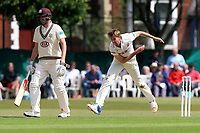 Matt Quinn in bowling action for Essex during Surrey CCC vs Essex CCC, Specsavers County Championship Division 1 Cricket at Guildford CC, The Sports Ground on 9th June 2017
