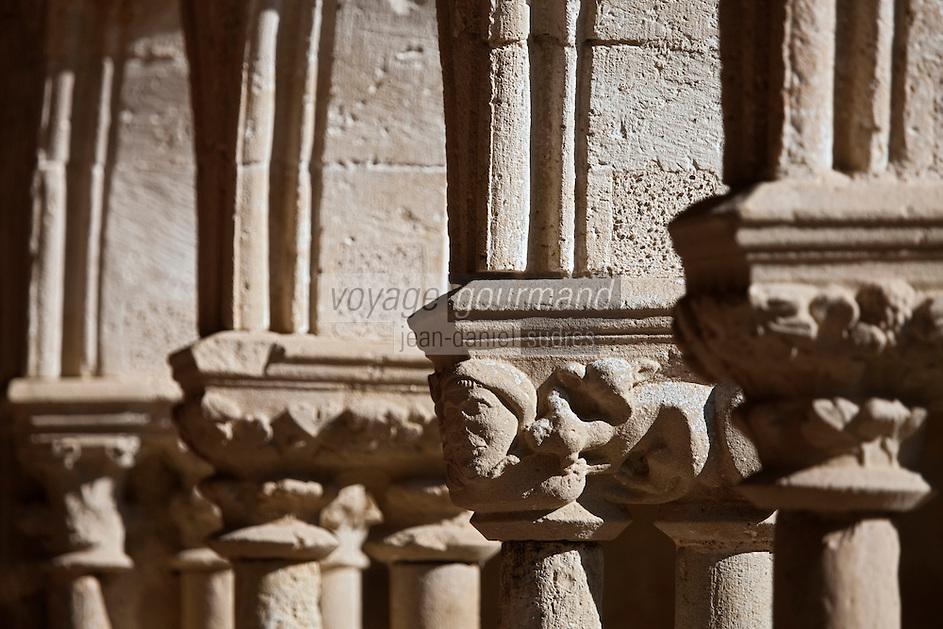 Europe/France/Midi-Pyrénées/32/Gers/Valence-sur-Baïse: Abbaye de Flaran - Le Cloître