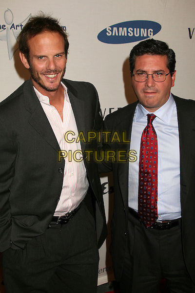 "PETER BERG & DANIEL M. SNYDER.Esquire Magazine Unveils the 'Esquire House 360' with an Opening Night Celebration to Benefit ""The Art of Elysium"", Beverly Hills, California, USA..October 19th, 2006.Ref: ADM/BP.half length black suit jacket.www.capitalpictures.com.sales@capitalpictures.com.©Byron Purvis/AdMedia/Capital Pictures."