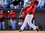 7 March 2011: Washington Nationals' infielder Alex Cora in action during a Spring Training game against the Houston Astros at Space Coast Stadium in Viera, Florida. The Nationals defeated the Astros 14-9 in Grapefruit League action. Mandatory Credit: Ed Wolfstein Photo
