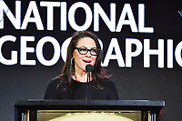 PASADENA, CA - FEBRUARY 10:  Courteney Monroe, President of National Geographic Global Networks at the 2019 National Geographic portion of the Television Critics Association Winter Press Tour at The Langham Huntington Hotel on February 10, 2019 in Pasadena, California. (Photo by Vince Bucci/National Geographic/PictureGroup)