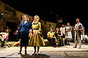 "The London premiere of the Tony award-winning musical, ""The Light in the Piazza"", based on a novel by Elizabeth Spencer, opens at the Royal Festival Hall for a limited run of 20 performances. Book by Craig Lucas, with Music and Lyrics by Adam Guettel. Directed by multiple Olivier Award-winner Daniel Evans, this production, with a full set and period costumes, is performed by Opera North's 40-piece orchestra. The cast of stars from the West End, opera and television includes opera singer Renée Fleming, Disney's Dove Cameron, Alex Jennings (Netflix's The Crown), Rob Houchen (Les Misérables), Marie McLaughlin (Royal Opera House), Liam Tamne (Wicked) and Celinde Schoenmaker (The Phantom of the Opera). Picture shows: Renee Fleming (as Margaret Johnson), Dove Cameron (as Clara Johnson)."