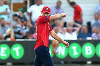 Frustration for Paul Walter of Essex after he drops a catching opportunity during Essex Eagles vs Notts Outlaws, Royal London One-Day Cup Semi-Final Cricket at The Cloudfm County Ground on 16th June 2017