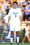 09 September 2011: Duke's Daniel Tweed-Kent. The University of Virginia Cavaliers defeated the Duke University Blue Devils 1-0 at Koskinen Stadium in Durham, North Carolina in an NCAA Division I Men's Soccer game.