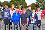 Front left to right, Patrick Scully, Jake Shine, Ronnie Downey.  Back left to right, Lorcan Behan, Eve O'Shea, Rebecca Mason, Daragh Lynch, Daragh Twomey Keane enjoying the Listowel Races on Sunday