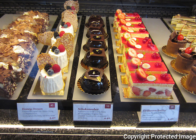 Vienna is well known for it's magnificent pastries.