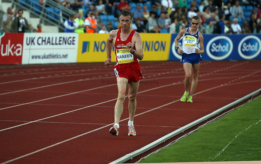 Photo: Paul Thomas/Richard Lane Photography..Norwich Union World Trials and AAA Championships. 29/07/2007..Peter Kaneen during the men's 5000m race walk.