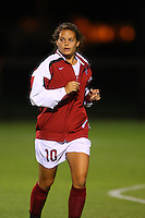 14 September 2007: Stanford Cardinal Kristin Stannard during Stanford's 3-2 win in the Stanford Invitational against the Missouri Tigers at Maloney Field in Stanford, CA.