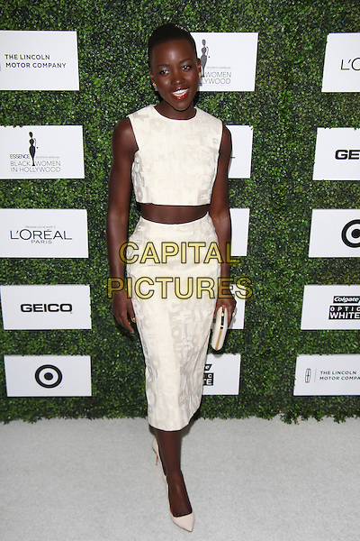 BEVERLY HILLS, CA - FEBRUARY 27:  Lupita Nyong'o attends the 7th annual ESSENCE Black Women In Hollywood luncheon at Beverly Hills Hotel on February 27, 2014 in Beverly Hills, California, USA.<br /> CAP/MPI/mpi99<br /> &copy;mpi99/MediaPunch/Capital Pictures
