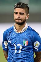 Lorenzo Insigne Italia <br /> Palermo 06-09-2013 Stadio La Favorita  - qualificazione mondiale Brasile 2014 / Italia-Bulgaria / foto Daniele Buffa/Image Sport/Insidefoto