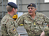 03.05.2014; Ayr, Scotland: GERALD GROSVENOR, THE DUKE OF WESTMINSTER<br /> meets with reserve soldiers prior to their deployment to the Olympic venues.<br /> Mandatory Photo Credit: &copy;MoD/NEWSPIX INTERNATIONAL<br /> <br /> IMMEDIATE CONFIRMATION OF USAGE REQUIRED:<br /> Newspix International, 31 Chinnery Hill, Bishop's Stortford, ENGLAND CM23 3PS<br /> Tel:+441279 324672  ; Fax: +441279656877<br /> Mobile:  07775681153<br /> e-mail: info@newspixinternational.co.uk<br /> Please refer to usage terms. All Fees Payable To Newspix International