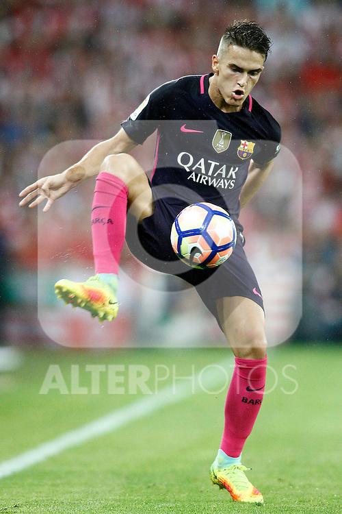 FC Barcelona's Denis Suarez during La Liga match. August 28,2016. (ALTERPHOTOS/Acero)