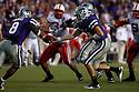 October 07, 2010: Kansas State quarterback Carson Coffman (14) to Kansas State running back Daniel Thomas (8) against Nebraska at the Bill Snyder Family Stadium in Manhattan, Kansas.  Nebraska defeated Kansas State 48 to 13.