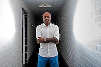 Pictured: Andre Ayew at the Landore Training Ground, Swansea, UK. Thursday 10 June 2015<br /> Re: The latest Swansea transfer, Andre Ayew.