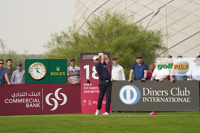 David Drysdale (SCO) in action during the final round of the Commercial Bank Qatar Masters 2020, Education City Golf Club , Doha, Qatar. 08/03/2020<br /> Picture: Golffile | Phil Inglis<br /> <br /> <br /> All photo usage must carry mandatory copyright credit (© Golffile | Phil Inglis)