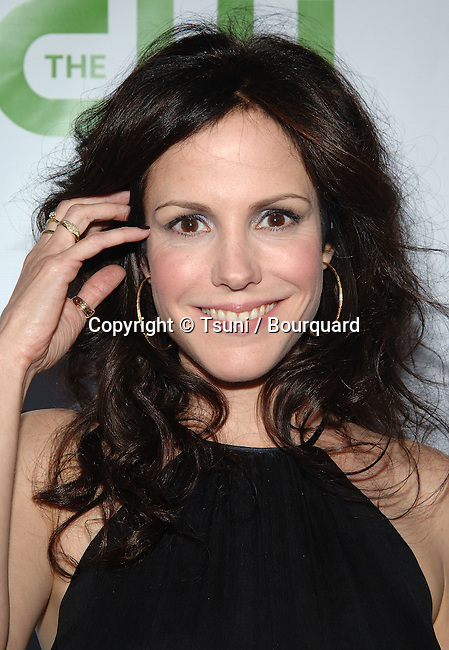 Mary Louise Parker - <br /> CBS-CW and Showtime  - tca Summer Party 2008 at the Boulevard 3 Club In Los Angeles.<br /> <br /> <br /> headshot<br /> eye contact<br /> smile