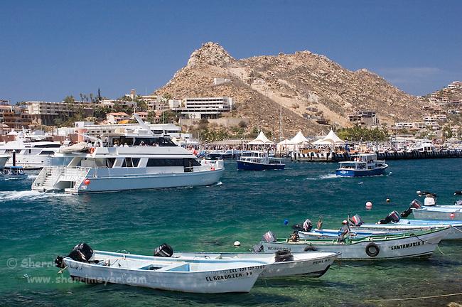 Busy Harbor, Cabo San Lucas, Baja California, Mexico