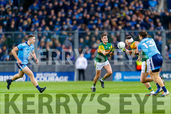 Graham O'Sullivan, Kerry during the Allianz Football League Division 1 Round 1 match between Dublin and Kerry at Croke Park on Saturday.