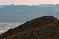photographer at Dante's View and Panamint Mountains