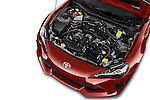 Car Stock 2017 Toyota 86 Automatic 2 Door Coupe Engine  high angle detail view