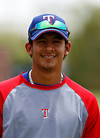 Wilfredo Boscan   -  Texas Rangers - 2009 extended spring training.Photo by:  Bill Mitchell/Four Seam Images