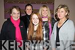 Pictured at the Niall Mellon in the Killarney Oaks hotel on Friday night were Cynthia O'Sullivan, Olivia O'Regan, Michaela Bruton, Janet O'Sullivan and Kathleen McAulliffe..
