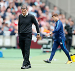 West Ham's Slaven Bilic looks on dejected during the premier league match at the London Stadium, London. Picture date 23rd September 2017. Picture credit should read: David Klein/Sportimage