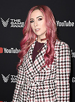 LOS ANGELES- DECEMBER 12: Meagan Camarena attends the Game Awards 2019 at the Microsoft Theater on December 12, 2019 in Los Angeles, California. (Photo by Scott Kirkland/PictureGroup)