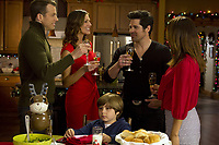 Finding Christmas (2013)<br /> Tricia Helfer, Cristina Rosato, Jt Hodges &amp; Mark Lutz<br /> *Filmstill - Editorial Use Only*<br /> CAP/KFS<br /> Image supplied by Capital Pictures