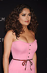 LOS ANGELES, CA - NOVEMBER 07: Actress Salma Hayek attends LACMA 2015 Art+Film Gala Honoring James Turrell and Alejandro G Iñárritu, Presented by Gucci at LACMA on November 7, 2015 in Los Angeles, California.