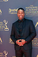 PASADENA - APR 30: AJ Calloway at the 44th Daytime Emmy Awards at the Pasadena Civic Center on April 30, 2017 in Pasadena, California