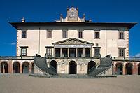 Italien, Toskana, Caiano, Villa Medicea Poggio a Caiano