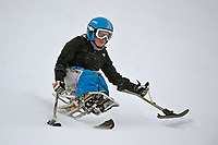 Victoria (Tori) Pendergast / Skier<br /> Australian Paralympic Committee<br /> 2017 Alpine skiing training camp for <br /> 2018 Pyeongchang South Korea Paralympics<br /> Perisher NSW / August 17th 2017<br /> &copy; Sport the library / Jeff Crow