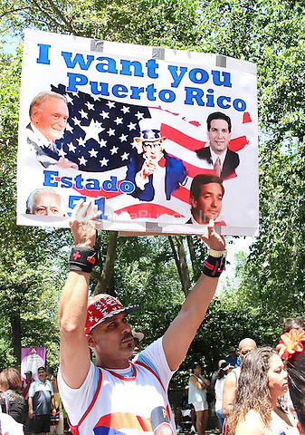 NEW YORK, NY - JUNE 12: The 59th annual National Puerto Rican Day Parade in New York, New York on June 12,  2016.  Photo Credit: Rainmaker Photo/MediaPunch