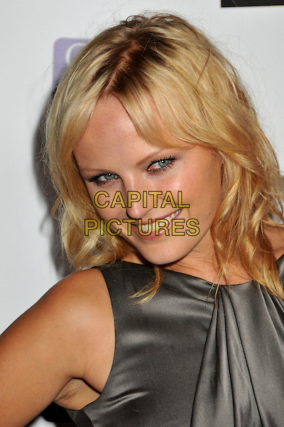 "MALIN AKERMAN.DoSomething.org ""The Power of Youth"" 2009 Teen Choice Awards Pre-Party held at Madame Tussauds, Hollywood, CA, USA..August 8th, 2009.Do Something headshot portrait grey gray silver ackerman sleeveless silk satin .CAP/ADM/BP.©Byron Purvis/AdMedia/Capital Pictures."