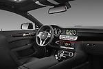 Passenger side dashboard photo of a 2013 Mercedes CLS Class AMG sedan